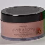 peach and honey face pack